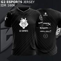 Jersey G2 Esport Black 2017   Kaos Jaket Hoodie LoL League of Legends