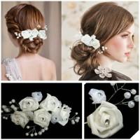 hair pin hiasan sanggul aksesoris rambut pesta pengantin