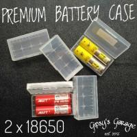 Jual Premium Battery Case / Kotak Batre / Tempat Batre 2x18650 / 4x16340 Murah