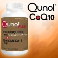 Qunol Plus Extra Strength Ubiquinol, 90 Softgels.
