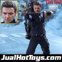 Jual Hot Toys Hawkeye Civil War MISB Hottoys Avengers MMS358 Murah