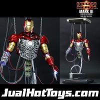 Hot Toys Iron Man Diorama Mark III Construction Hottoys