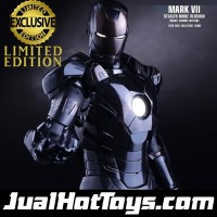 Hot Toys Iron Man Mark VII Stealth MISB HotToys Ironman 7
