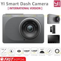 Jual Xiaomi Yi Smart Car DVR WiFi Dash Cam International Version - Grey Murah