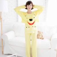 Jual baju tidur piyama pp the pooh singlet+rompi Murah