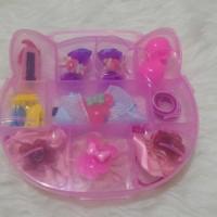 Hello Kitty Kotak Plus Aksesories Anak