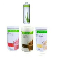 Paket#Herbalife#3 shake mix + aloe