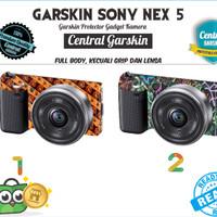Garskin Kamera Sony Nex 5 - Batik 2