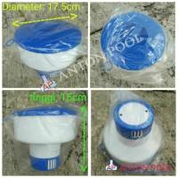 Floating Chlorine Dispenser China / Pelampung Kaporit Tablet China