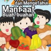 Buku Mewarnai Dan Mengetahui Manfaat Buah-buahan