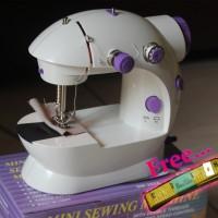 Jual Mesin Jahit Portable Mini/Portable Sewing Machine Fhsm 202 versi lampu Murah