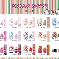 Nail art sticker / Nail sticker / disney nail sticker / sticker kuku