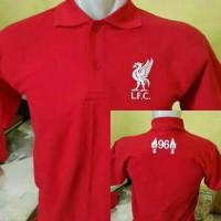 Polo Shirt T-shirt Baju Kaos Tshirt Cotton Combed Lfc 96