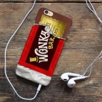 wonka coklat Iphone 6 7 5 Xiaomi Redmi Note F1S OPPO  s6 s7
