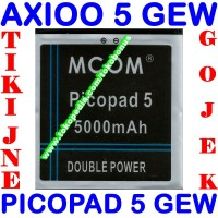 Baterai Axioo Picopad 5 Gew Double Power M Com