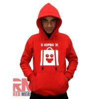 "Hoodie Shopback ""Merah"" - REDMERCH"