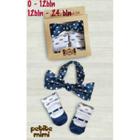 Harga petite mimi sock headband set set kaos kaki bandana | antitipu.com