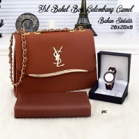 Ysl behel box/tas slempang/tas ransel/tas jinjing/wallet/tas wanita