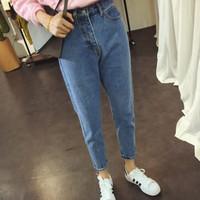 Jual celana jeans panjang wanita denim stretch Murah