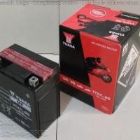 Aki motor yuasa YTX7L-BS Untuk motor Honda CB 600, Kawasaki KLX 150