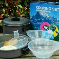 Cooking Set DS 200 - peralatan masak camping