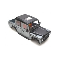 D110 LAND ROVER PICKUP SCALE DETAIL HARD BODY KIT 1/10 UNPAINTED