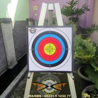 BANTALAN FACE TARGET 40x40x2cm MURAH BERGARANSI-PANAH-PANAHAN-ARCHERY