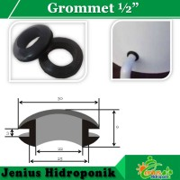 """Grommet / Gromet / Seal 1/2"""" unt Dutch Bucket Hidroponik / Aquaponik"""