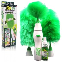 Go Duster Cleaner Kemoceng Putar Elektrik - Free Multi Surface Spray