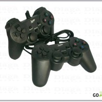joystick / game pad / stick pc laptop komputer double analog usb