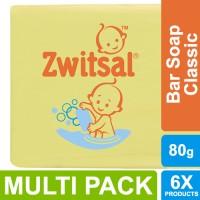 Zwitsal Baby Sabun Batang Classic 80g - Multi Pack