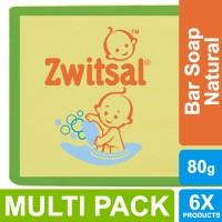 Zwitsal Baby Sabun Batang Natural 80g - Multi Pack