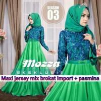 Promo Pakaian Wanita Maxi Hijab  Mozzaa Tosca Style Modis Murah