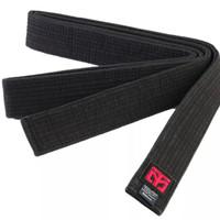 Sabuk Taekwondo Mooto Fighter Black belt single wrap
