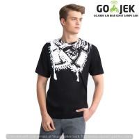 Jual Kaos Sorban 3D Pria Adamsbell Exclusive Brand - Hitam Murah