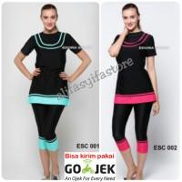 Baju Renang Wanita Dewasa Ukuran M, L, XL dan XXL ESC-001