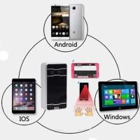 Jual Bluetooth Keyboard Laser + Alat Proyeksi Mini + Speaker Stereo u/ HP Murah