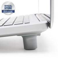 Bluelounge Cool Feet silver - Kaki untuk penyangga laptop