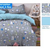 harga Kain Sprei Star Meteran Motif Doraemon Peek A Boo Tokopedia.com