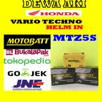 harga Aki Gel Kering Motor Honda Vario Techno Helm In Motobatt Mtz5s / Gtz5s Tokopedia.com