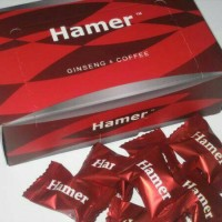 Hamer Candy Ginseng & Coffee