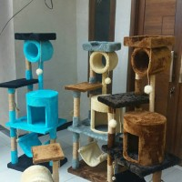 Jual mainan,garukan,cakaran kucing/cat walk/cat scratcher Murah