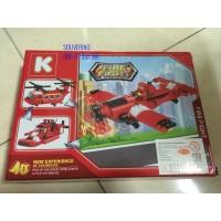Mainan Lego Merk K Series 13022 Fire Fight - brick - Block