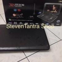 Jual DVD Portable 14inch ASATRON  PDVD-993 USB ( USB / SD  MMC / TV Tuner ) Murah