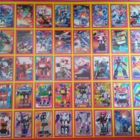 poster gambar seri robot transformer