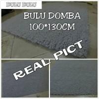 Jual bukan karpet bulu korea / karpet bulu domba 100*130cm Murah