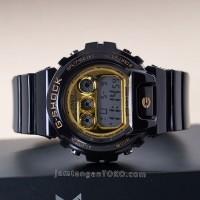 Jam Tangan G Shock DW6900CB-1 Black Gold KW
