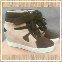 Jual Sneaker Wedges Hidden Shoes Murah