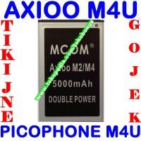 Baterai Axioo Picophone M4U MCOM M COM Battery Batrai Batere Batre