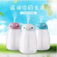 USB Baymax Anion Moisturizing Humidifier Colorful LED -400ML